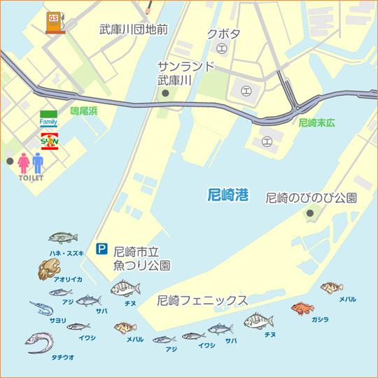 海 公園 尼崎 釣り