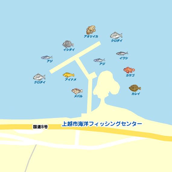 上越市海洋フィッシングセンター 陸っぱり 釣り・魚釣り | 釣果 ...