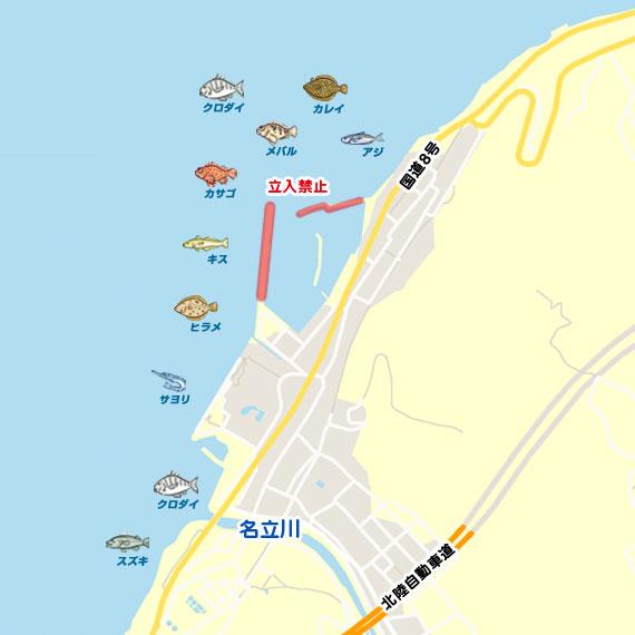 名立港 陸っぱり 釣り・魚釣り | 釣果情報サイト カンパリ