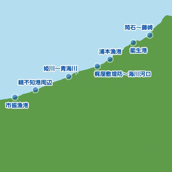 上越(糸魚川市) 陸っぱり 釣り・魚釣り | 釣果情報サイト ...