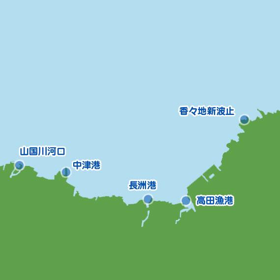 中津市〜豊後高田市 陸っぱり 釣り・魚釣り | 釣果情報サイト ...