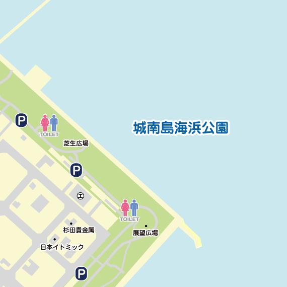 東京 城南島海浜公園