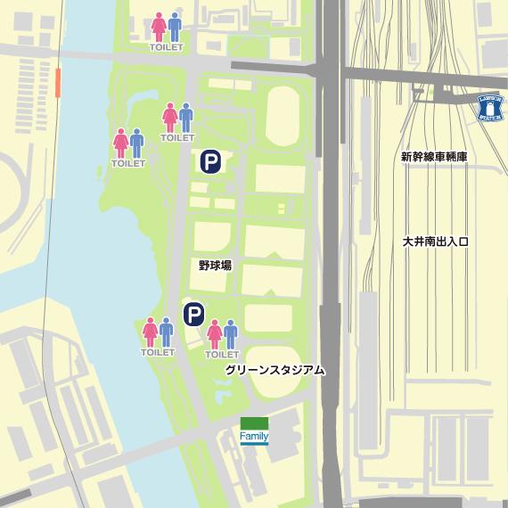 東京 大井埠頭中央海浜公園