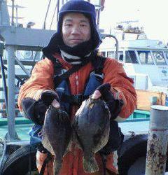沖一文字 投げ釣りのカレイが狙い目です!