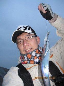 ムコイチのワインドにて初釣り☆タチウオゲット!