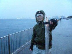 【雨にも負けずGET】南芦屋浜リアルタイム
