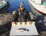 良型チヌの釣果 in 黒島の磯