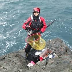 音海の磯でチヌ&グレの釣果
