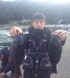 お昼からバタバタと釣れていましたヨ!萩尾グレ釣果