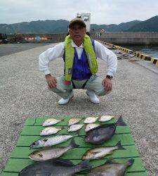 本日は五目釣りでした〜沖一文字外向きでグレ・イサギ・ゴマサバなど