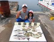湾内の筏&黒島の筏のチヌ釣果、良型カワハギも釣れてます♪