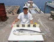 黒島の磯 シイラ105cmをジグでキャッチ!