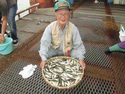 サビキでアジを200匹! 尼崎市立魚つり公園
