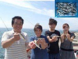 平磯海づり公園 サビキでアジ大漁☆