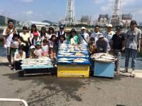 マリーナシティ海洋釣り堀 貸切でマダイ・青物いっぱい釣れました!