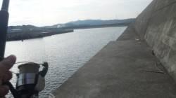 濱ノ瀬にてシオ狙いでジギング タチウオの回遊あり2匹ゲット!
