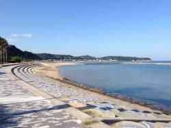 多賀海水浴場〜西浦の浜や漁港を投げ釣りで探ってきました