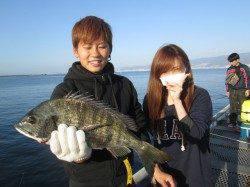 尼崎市魚つり公園 ウキ釣りでチヌの釣果出てます