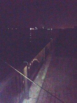 早朝ワインドで太刀魚を狙いに岸和田の波止へ