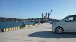 日高港 ワインドで朝タチウオが好調でした!