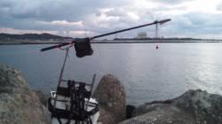 日高川河口にチヌ狙い釣行 オキアミフカセでGET!
