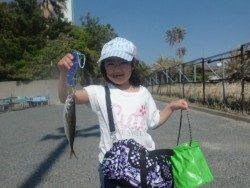 大阪南港海釣り公園 アジは2匹のみでした