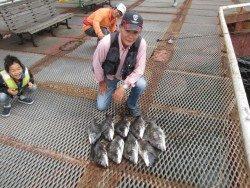 尼崎市立魚つり公園 チヌほか