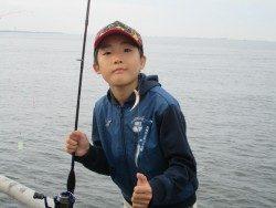 尼崎市立魚つり公園 サビキでイワシ・サッパ・サバなど