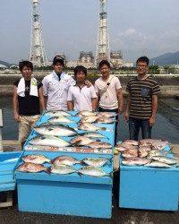 和歌山マリーナシティ海洋釣り堀 大漁でした!