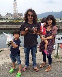 和歌山マリーナシティ海釣り公園 ちょい投げでキス☆ サビキでアジ・イワシも