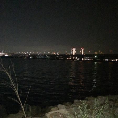 久々の淀川❗️