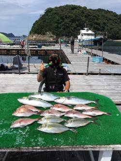 釣堀紀州での釣果