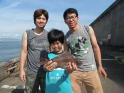 和歌山北港魚つり公園 マダイ   36㎝