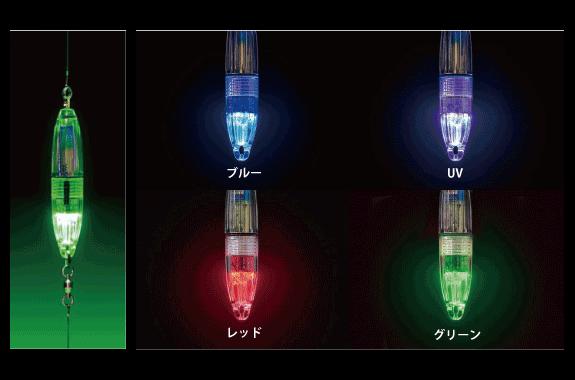 4種類の発光モードを搭載したLED集魚ライト新登場!【FiRE FiSH クアトロ】