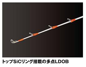 掛け・クワセ 2調子のテンヤ太刀魚専用ロッド【LRD攻技テンヤ太刀魚SE】
