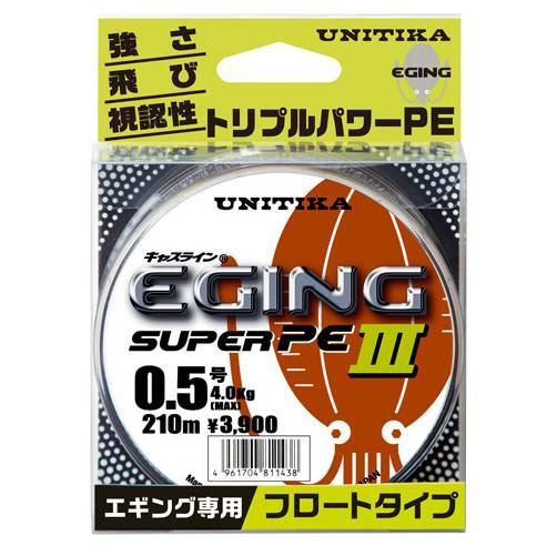 ユニチカ キャスラインエギングスーパーPEⅢ