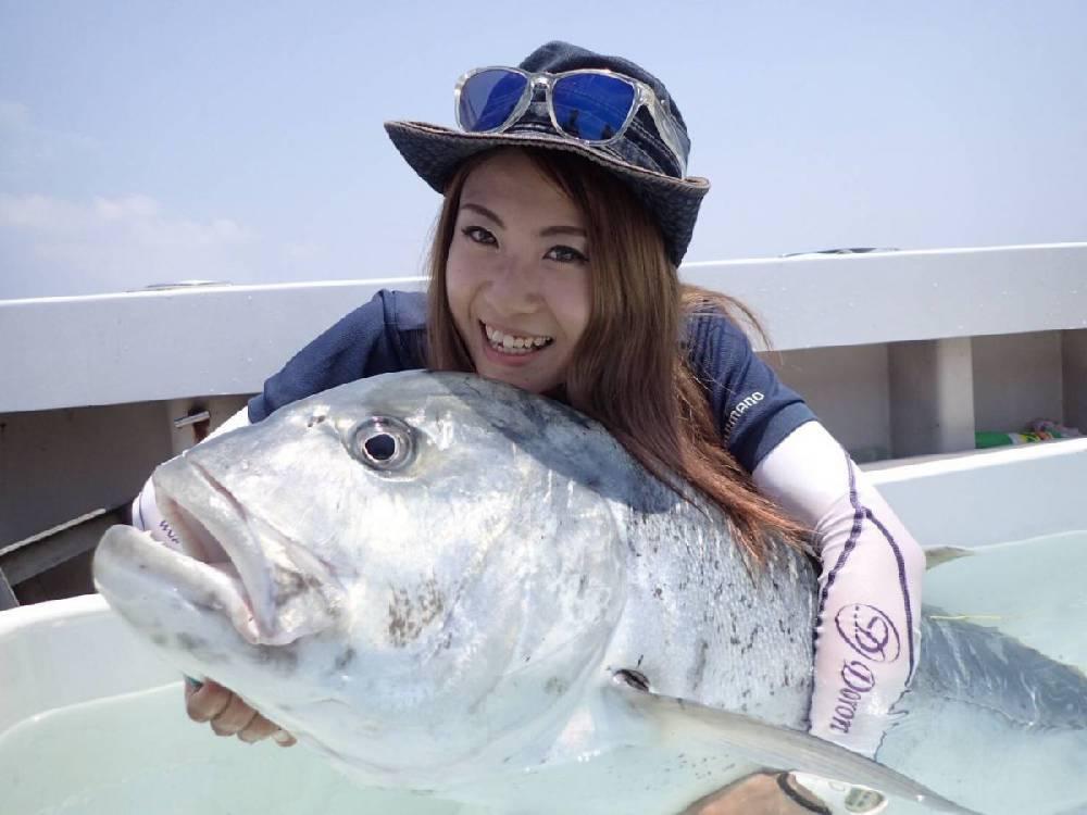 トカラ列島で憧れのGT!!!【ゆいぽんの連載記事☆★ NO.9】