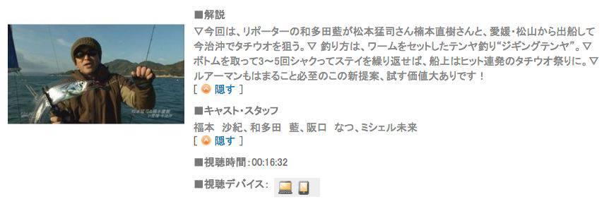 タチウオゲームの新スタイル!! 「ジギングテンヤ」とは?