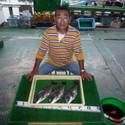 海山フィッシングセンター 釣果
