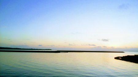 西表島でのターポン