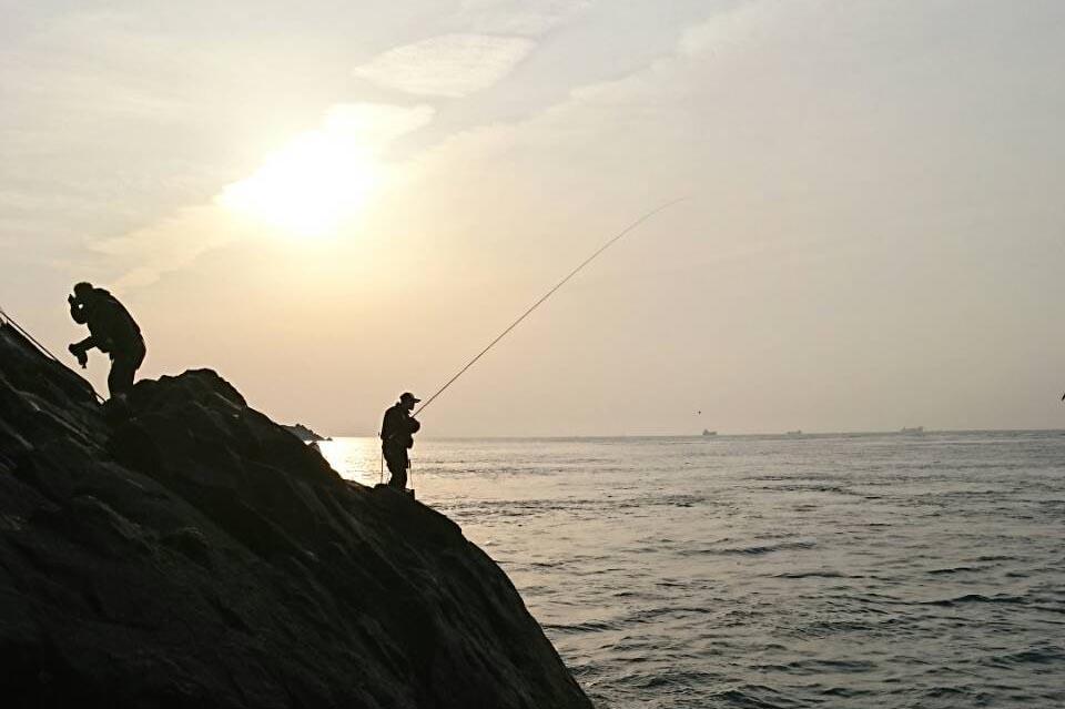 海釣り フカセ釣り